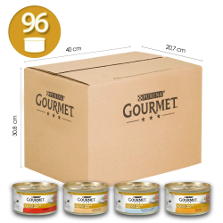 Chollo - Pack 96 Latas Purina Gourmet Gold Mousse (96x85g)⁣⁣⁣⁣⁣