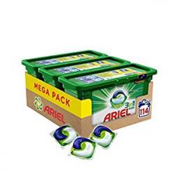 Chollo - Pack de 114 Cápsulas Ariel 3en1 Pods Original (3x38 cápsulas)