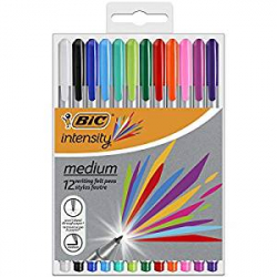 Chollo - Pack de 12 Rotuladores Bic Intensity Medium (964893)