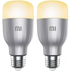 Chollo - Pack de 2 Bombillas inteligentes Xiaomi Mi LED Smart Bulb White and Color - GPX4025GL