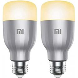 Chollo - Pack de 2 Bombillas inteligentes Xiaomi Mi LED Smart Bulb White and Color - GPX4025GL