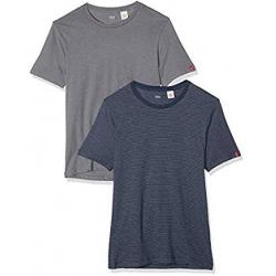 Pack de 2 Camisetas Levi's Slim Crew