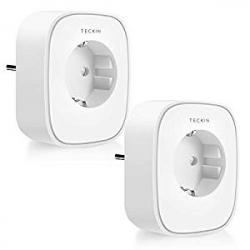 Pack de 2 Enchufes Inteligentes Teckin SP22 Smart Socket (2200W)