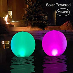 Chollo - Pack de 2 Luces LED Solares Inflables Cootway