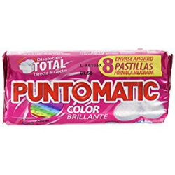 Chollo - Pack de 224 Pastillas de Detergente Puntomatic Color (28x4)