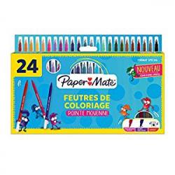 Chollo - Pack de 24 Rotuladores Paper Mate Youth Art de Punta Fina (2032373)