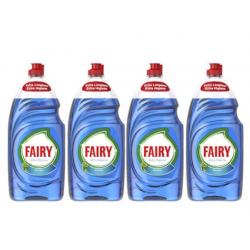 Pack de 4 Lavavajillas Fairy Extra Higiene Eucalipto (4x1015ml)