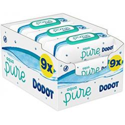 Chollo - Pack 432 Toallitas Húmedas Dodot Aqua Pure
