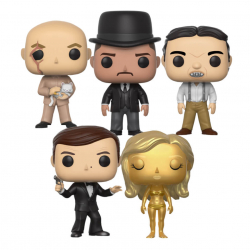 Pack de 5 Funko Pop James Bond 007