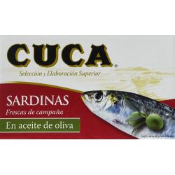 Chollo - Pack de 5 Latas de Sardinas en Aceite de Oliva Cuca (5x120g)