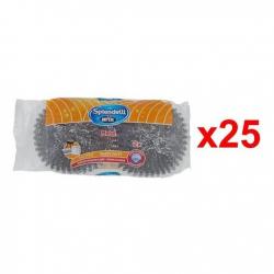Chollo - Pack de 50 Estropajos de acero Arix Splendelli (2x25)
