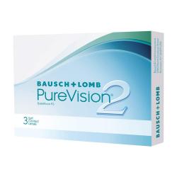 Pack de 6 Pares de Lentillas Bausch + Lomb PureVision 2