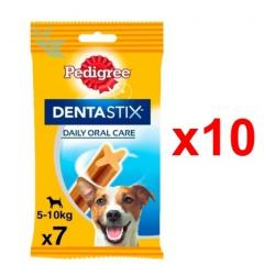 Chollo - Pack 70 Barritas Pedigree Dentastix perros pequeños (10x7uds)