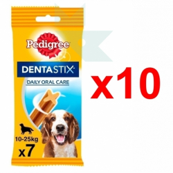 Chollo - Pack de 70 Barritas Pedigree Dentastix (10x7uds)