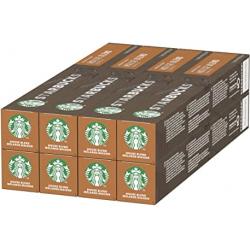 Chollo - Pack de 80 Cápsulas Nespresso Starbucks (8x 10 tubos)