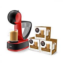 Chollo - Pack de Cafetera Nescafé Dolce Gusto Krups Infinissima + 48 Cápsulas