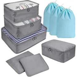 Chollo - Pack de organizadores para maletas DIMJ (9 piezas)