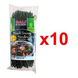 Chollo - Pack Fideos con sésamo negro Bali Kitchen 10x200g