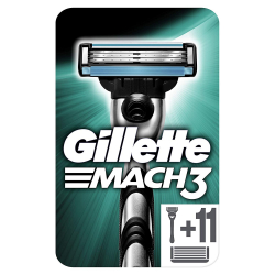 Chollo - Pack Gillette Mach3 + 11 Recambios Extra