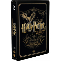 Chollo - Pack Harry Potter Colección Completa Golden Steelbook (Blu-Ray)