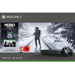 Chollo - Pack Microsoft Xbox One X 1TB + Metro Exodus Collection