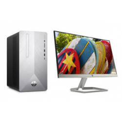 "Chollo - Pack PC Sobremesa HP Pavilion Desktop 590-p0044ns + Monitor 21.5"" HP 22fw"