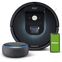 Chollo - Pack Robot aspirador iRobot Roomba 981 + Altavoz inteligente Echo Dot (3.ª generación)