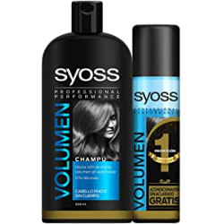 Chollo - Pack Syoss Champú Volumen 500ml + Acondicionador Volumen 200ml