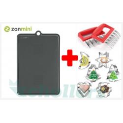 Chollo - Pack Tabla de Cortar Zanmini + Garras Desmenuzadoras + Moldes Cortadores de Galletas