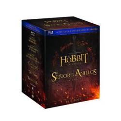Chollo - Pack Tierra Media ESDLA + Hobbit en Blu-Ray