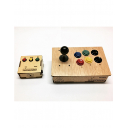 Chollo - Pack Time Machine Mini y Joystick 2 Jugadores - 25%