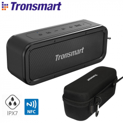 Chollo - Pack Tronsmart Element Force SoundPulse 40W Bluetooth 5.0 TWS + Funda Semi Rígida