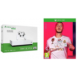 Pack Xbox One S 1TB All-Digital Edition + 4 Juegos