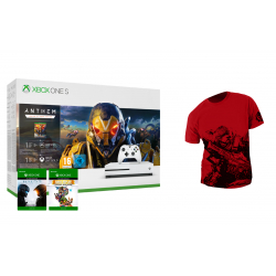 Chollo - Pack Xbox One S 1TB + Anthem Edición Legión del Alba + Halo 5 Guardians + Rare Replay