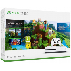 Chollo - Pack Xbox One S 1TB + Minecraft Complete Collection