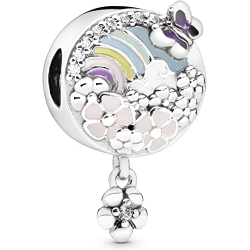 Chollo - Pandora Historia Flores Coloridas Charm de plata   797999ENMX