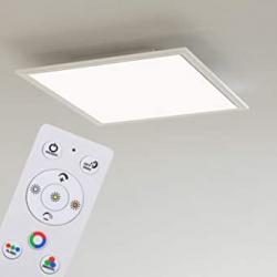 Chollo - Panel de techo LED Briloner Leuchten RGB CCT ultraplano 18W | 7151-016