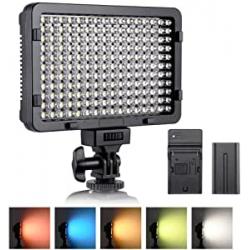 Chollo - Panel LED ESDDI PLV-280 con 5 Filtros, Batería y Cargador