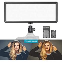 Chollo - Panel LED Neewer regulable 2600mAh para fotografía y vídeo