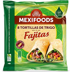 Chollo - Paquete 8 tortillas de trigo Mexifoods (320g)