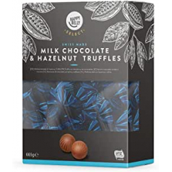 Chollo - Bombones Chocolate con Leche y Avellanas Happy Belly Select (665g)