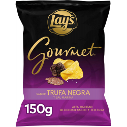 Chollo - Patatas fritas Lay's Gourmet Trufa Negra y Sal Marina 150g