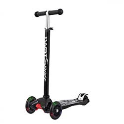 Chollo - Patinete iWatMotion iWatSpace Earth LED 3 Ruedas