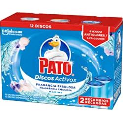Chollo - Pato Discos Activos WC Recambio Marine Pack 2x 6 Unidades | J689310