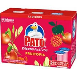 Chollo - Pato WC Fruitopia con Aplicador 6 Discos Activos Pack 2 Recambios
