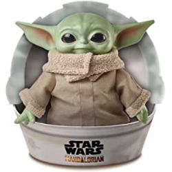 Chollo - Peluche Baby Yoda El Niño The Mandalorian 28cm - Mattel GWD85
