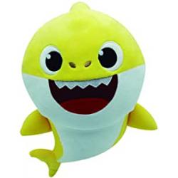 Chollo - Peluche musical Baby Shark Bandai SS92510