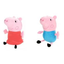 Chollo - Peluche Peppa Pig - Peppa o George (20cm)