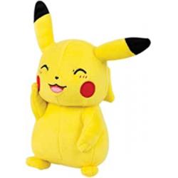 Chollo - Peluche Pikachu sonriente 20cm - TOMY T19389