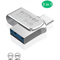 Chollo - Pendrive 64GB BlitzWolf BW-UPC1 USB3.0 + USB-C